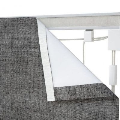 roman blind corded track 120cm wide